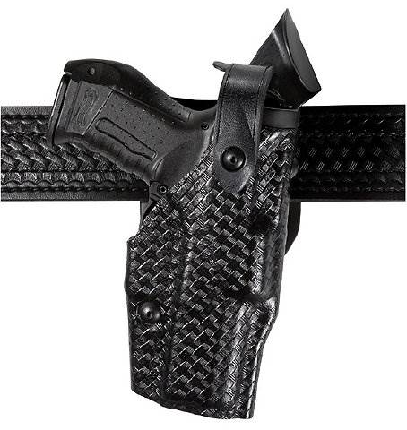 Safariland 6360 ALS Level III Mid-Ride Duty Holster - STX Finish