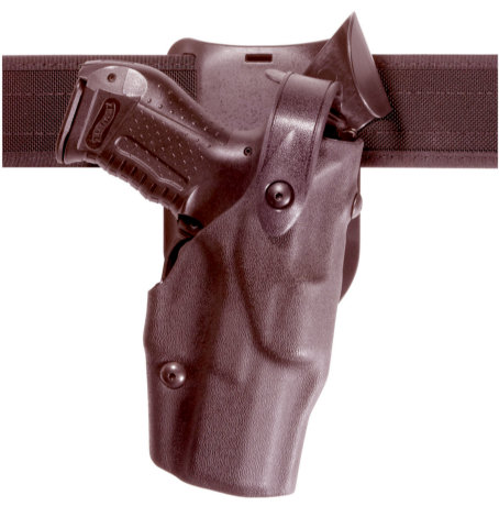 Safariland 6365 Level III Low-Ride Duty Holster - Cordovan