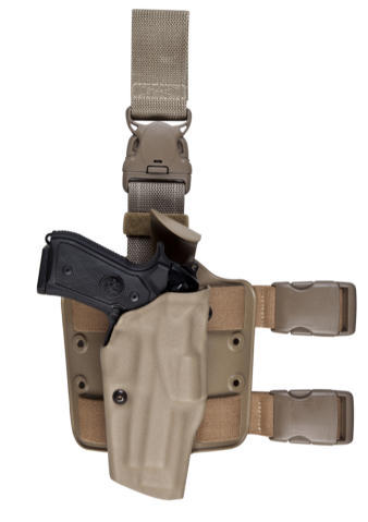 Safariland 6385 OMV Tactical Quick Release Holster STX Finish