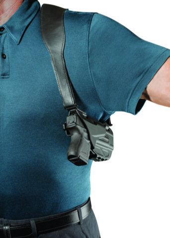 Safariland 7053 7TS ALS Shoulder Holster - Tac Light