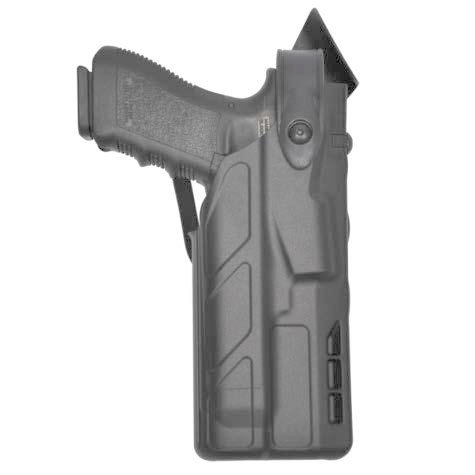 Safariland 7TS 7285 SLS Level II Low-Ride Duty Holster - Tac Light - Basketweave