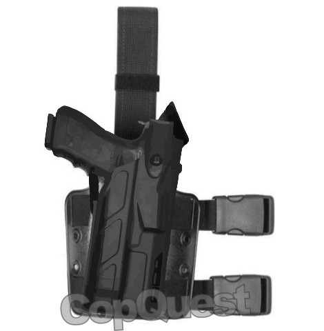 Safariland 7TS 7304 ALS/SLS Tactical Holster - Tac Light