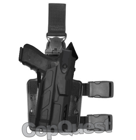 Safariland 7TS 7305 ALS/SLS Tactical Holster w/Quick Release - Tac Light
