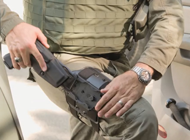 Safariland Molle Locking System Kit