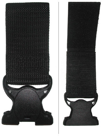Safariland Vertical Strap Buckle for 6005 Holster - Velcro Loop