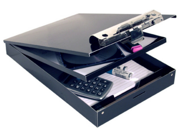 Saunders Cruiser-Mate Portable DeskTops - Dual Storage / Letter size / Black