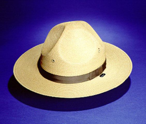 Stratton S-40DB Summer Straw Campaign Hat - Double Brim
