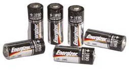 Streamlight N-Cell 1.5v Alkaline Batteries - 6 per pack