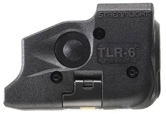 Streamlight TLR-6 Rail Mount Tac Light w/Red Laser Sight - GLOCK