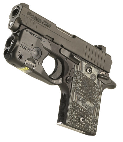 Streamlight TLR-6 Subcompact Tac Light w/Red Laser Sight