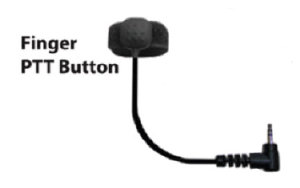 Tactical Ear Gadgets Finger Push-To-Talk Button - 2.5mm plug