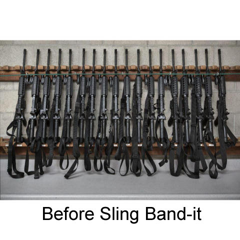 Tat Jacket Sling Band-it - Tactical Gun Sling Control Solution