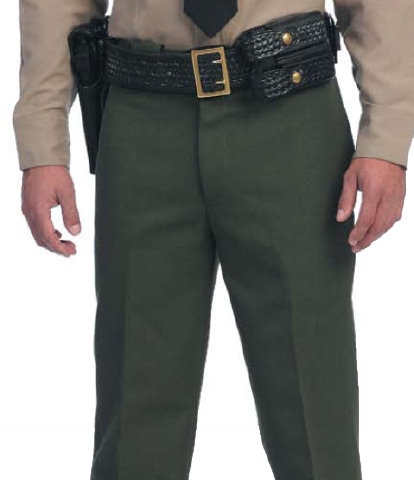 United Uniforms Sheriff's Class A Poly/Wool Trousers - Men's
