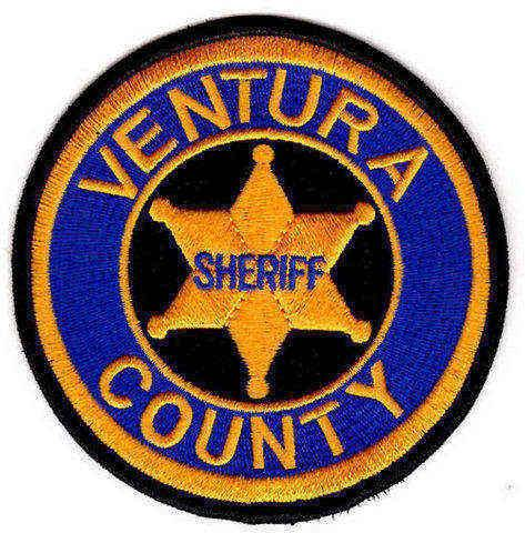 Ventura County Sheriff's Office - Shoulder Patch - 3.75 Inch Round - Pair