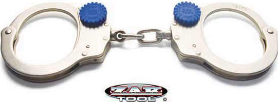 ZAK Tools ZT60 Tactical Training Handcuff - Chain Link - Nickel